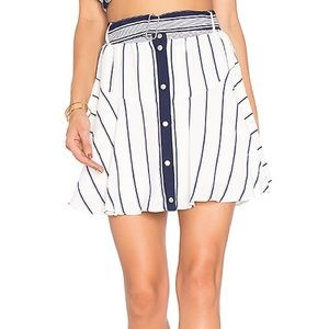 NWT Lovers + Friends Fountain Skirt Size M